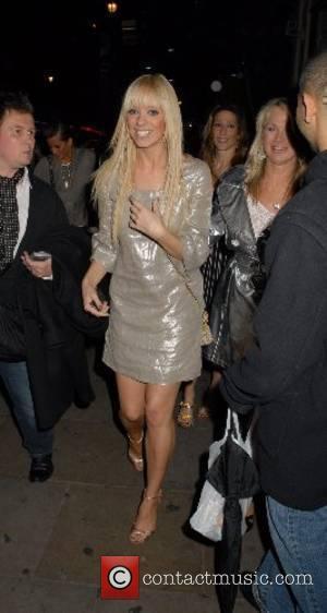 Liz Mc Clarnon ,  The Perfume Shop/LK high street fashion awards at Café de Paris London, England - 14.05.07