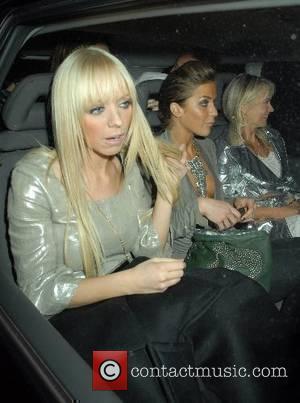 Liz Mc Clarnon and Kate Lawler,  The Perfume Shop/LK high street fashion awards at Café de Paris London, England...