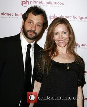 Judd Apatod and Leslie Mann Planet Hollywod Resort's Grand Opening - Day 2  Las Vegas, Nevada - 17.11.07