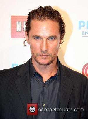 Mcconaughey Makes Promotional Road Trip For Sahara
