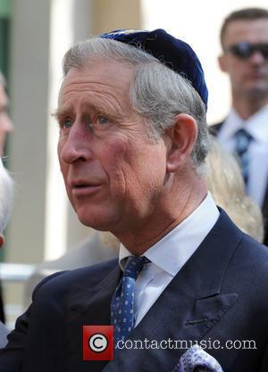 Prince Charles, Prince of Wales, wearing a Jewish yarmulka, opens the Krakow Jewish Community Centre Krakow, Poland - 29.04.08