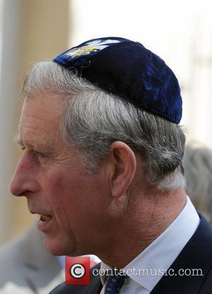 Prince Charles, Prince of Wales, wearing a Jewish yarmulka, attends the the opening of the Krakow Jewish Community Centre Krakow,...