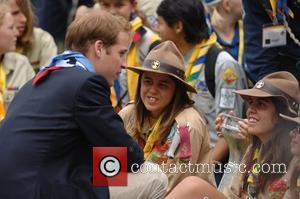 Prince William and Scouts The 21st World Scout Jamboree opening ceremony  at Hylands Park, Chelmsford  Essex, London -28.07.07