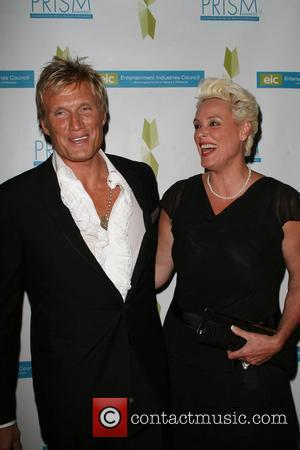 Dolph Lundgren and Brigitte Nielsen 12th annual Prism awards held at the Beverly Hills hotel Beverly Hills, California - 24.04.08