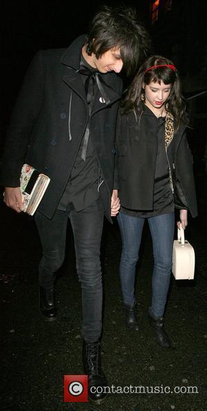 Peaches Geldof and her new boyfriend, Horrors frontman Faris Rotter, leaving Punk nightclub at 3.00am London, England - 21.03.08