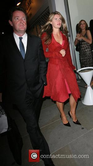 Piers Morgan and Guest Leaving the 'Death Proof' Quentin Tarantino afterparty at Collection nightclub London, England - 17.09.07