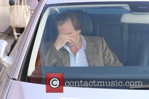 Ralph Fiennes arriving at Tegel Airport on a British Airways flight from London Berlin, Germany - 05.10.07