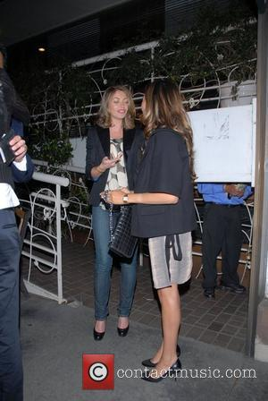 Rebecca Gayheart  leaving Madeos Restaurant. Los Angeles, California - 30.04.08