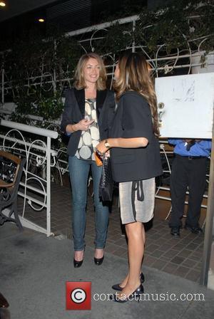 Rebecca Gayheart  leaving Madeos Restaurant. Los Angeles, California - 30.04.08
