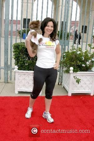 Fran Drescher & her dog Esther The Entertainment Industry Foundation Revlon Run/Walk - Arrivals Los Angeles Memorial Coliseum Los Angeles,...