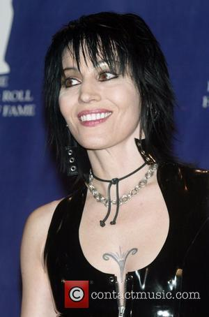 Joan Jett 2008 Rock and Roll Hall of Fame at The Waldorf-Astoria hotel - Press Room New York City, USA...