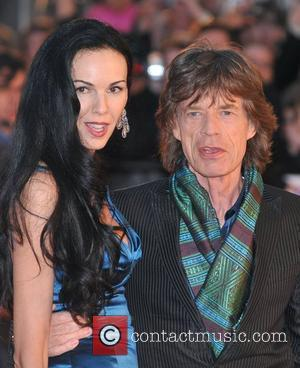 Jagger + Clapton's Ex Dates French President