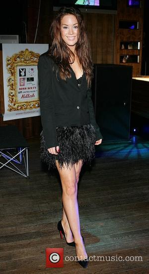 Roxanne McKee at the launch of the 'Champagne and Shoes' ladies night at Platinum nightclub in Dunlaoire Dublin, Ireland -...
