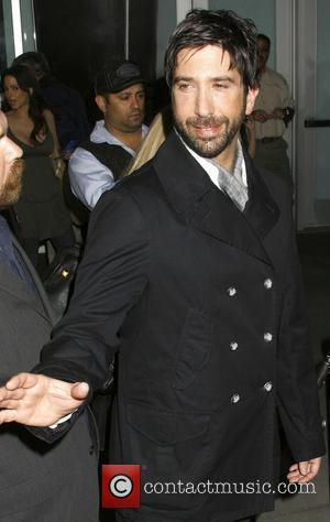 David Schwimmer  Los Angeles Premiere of 'Run Fatboy Run' held at the Arclight Theatres - Arrivals Los Angeles, California...