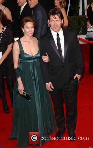 Diane Lane and Josh Brolin 14th Annual Screen Actors Guild Awards at the Shrine Auditorium -- Arrivals Los Angeles, California...