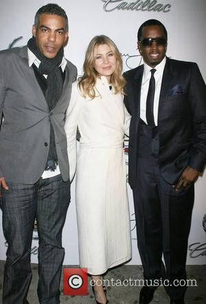 Christopher Ivery and Ellen Pompeo