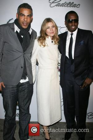 Christopher Ivery, Ellen Pompeo and Sean 'P. Diddy' Combs Mercedes-Benz Fashion Week Fall 2008 - Sean John - Afterparty at...
