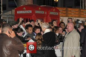 Charlie Watts of The Rolling Stones UK premiere of 'Shine A Light' held at Odeon Leicester Square London, Engalnd -...