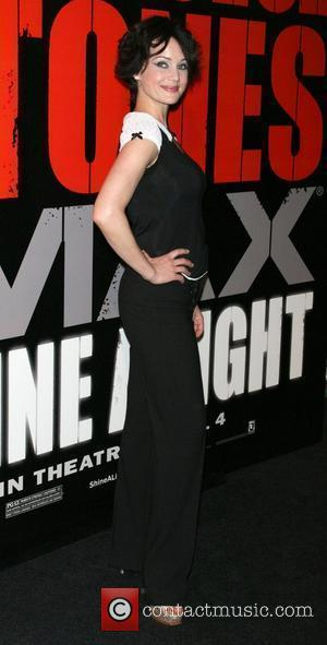 Carla Gugino New York Premiere of 'Shine a Light' held at the Ziegfield Theater - Red Carpet New York City,...
