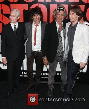 Rolling Stones, Ronnie Wood, Charlie Watts, Keith Richards