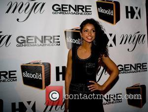 Mya Skool'd event at Sol co-sponsored by Universal Records, HX and Genre Magazines to benefit he Ali Forney Center, New...