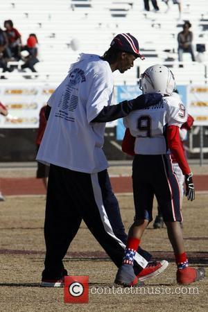 Snoop Dogg and Athlete  Snoop Bowl VI at Hamilton High School Chandler, Arizona 02.02.08