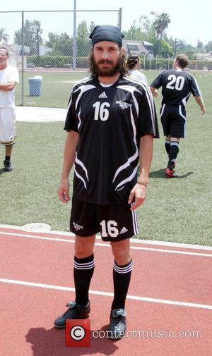 Santiago Cabrera  'Soccer For Survivors' celebrity soccer match presented by the Hollywood United Football Club at Beverly Hills High...