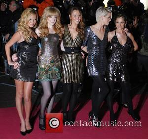 Nadine Coyle, Nicola Roberts, Kimberley Walsh, Sarah Harding and Cheryl Cole of Girls Aloud Premiere of 'St Trinian's' at Empire...