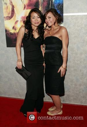 Mari Koda and Briana Evigan World premiere of 'Step Up 2 The Streets' at the Arclight Theater Hollywood, California -...