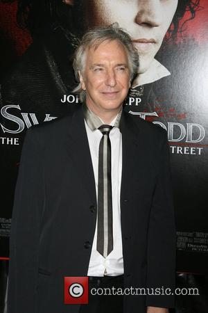 Alan Rickman World Premiere of 'Sweeney Todd: The Demon Barber of Fleet Street' at Ziegfeld Theatre - Arrivals New York...