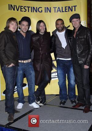 Kasabian, Shane Ward, Craig David & Jamie Hartman Talent for Kickz anouncement at One Great George Street London, England -...