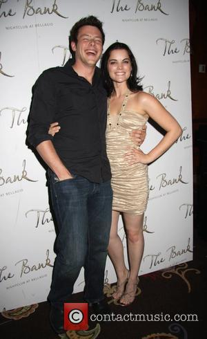 Cory Monteith and Jamie Alexander 2 - Way Birthday hosted by the cast of Kyle XY at The Bank night...