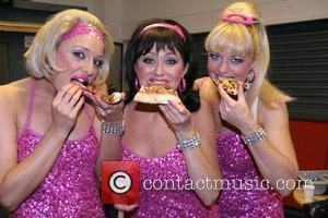 The Sheilas Carly, Emma and Cathi from the Sheilas' Wheels Car Insurance advertisements shoot the video for their debut single...