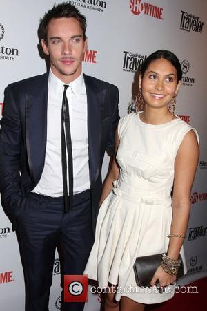 Jonathan Rhys Meyers, Reena Hammer World Premiere of 'The Tudors - Season 2' at Sheraton Hotel New York City, USA...