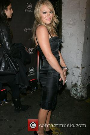 Hilary Duff The 2008 Tribeca film festival - Tejune hosts after party for 'Theatre of war' at the Cadillac lounge...