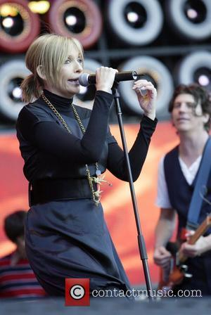 Toni Collette and the Finish performing at the Live Earth Australia Concert held at Aussie Stadium Sydney, Australia - 07.07.07