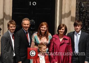 Tony Blair and Kathryn Blair