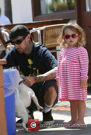 Former Blink 182 drummer Travis Barker shopping with his kids Malibu, California - 26.04.08