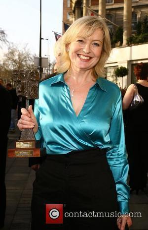 Carol Kirkwood 2008 TRIC Awards held at Grosvenor House - Departures London, England - 11.03.08