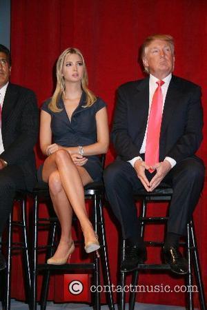 Ivanka Trump and Donald Trump Donald Trump announces the launch of Trump SoHo Hotel Condominium New York New York City,...