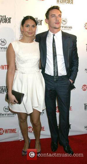 Jonathan Rhys Meyers and Reena Hammer World Premiere of 'The Tudors: Season 2' - Arrivals New York City, USA -...