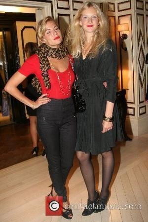 Sienna Miller and Savannah Miller Party for Sienna & Savannah Miller's Twenty 8 Twelve clothing line at Bergdorf Goodman New...