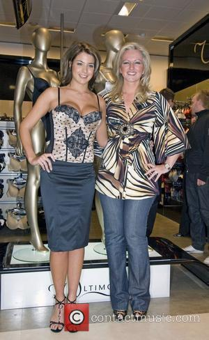 Actress Gemma Atkinson with Michelle Mone, co-owner of MJM International  launch new brand Ultimo D-G and the first ever...