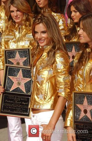 Alessandra Ambrosio Victoria's Secret Angels presented with Award of Excellence in celebration of Victoria's Secret 25th Anniversary and receive a...