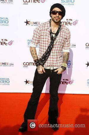 AJ McLean Viva Comet Awards 2008, held at the Koenig Pilsener Arena Oberhausen, Germany - 23.05.08