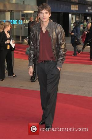 Ashton Kutcher UK film premiere of 'What Happens in Vegas...' held at Odeon Leicester Square - Arrivals London, England -...