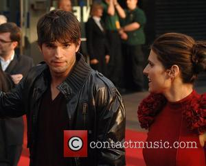 Ashton Kutcher, Lake Bell at the premiere of 'What Happens In Vegas' at Odeon,Leicester Square London,England- 22.04.08