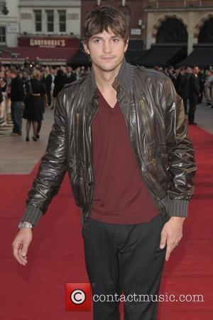 Ashton Kutcher at the UK film premiere of ''What happens in Vegas' held at Odeon Leicester Square London, England -...