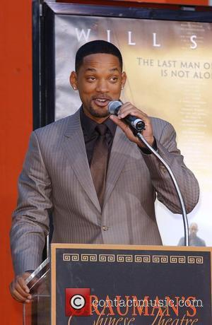 Will Smith Will Smith Handprint and Footprint Ceremony at Grauman's Chinese Theatre in Hollywood Los Angeles, California - 10.12.07