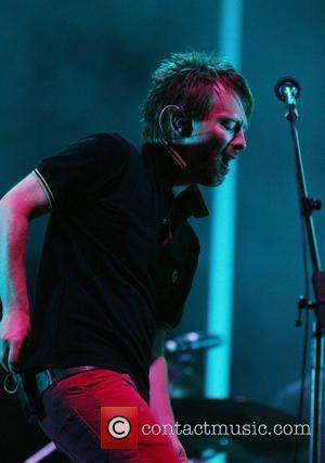Thom Yorke of Radiohead All Points West Music and Arts Festival at Liberty State Park - Day 2 Jersey City,...